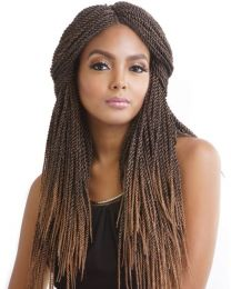 "Mane Concept Hair Afri Naptural  3x Senegal Twist 20"" 1B"