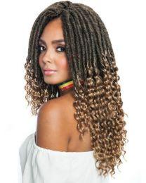 """Mane Concept Hair Afri Naptural TWB104 Gypsy Locs 14"""" 1B"""