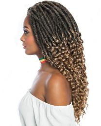 "Mane Concept Hair Afri Naptural TWB104 Gypsy Locs 14"" - color 1B"