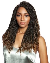 AFRI-NAPTURAL®-SENEGALESE BUNDLE SERIES - (3XPACK) COILY ENDS SENEGAL TWIST 14""