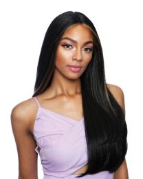 "MANE CONCEPT MELANIN QUEEN FAVE PART LACE WIG 5"" DEEP - Rolling Straight 26"""