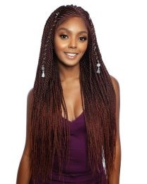 Red Carpet Invisible Braid Lace Wig - SHADI 32""