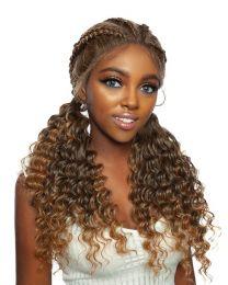 Red Carpet Ghana Braid Lace Wig - Hermes