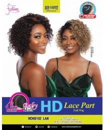 Red Carpet High Definition Lace Part Full Wig - LAN