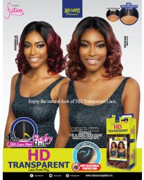 """RED CARPET 4"""" Deep See-through part HD-Lace - Lace Front Wig - HANA"""