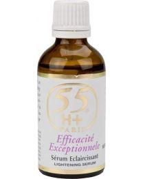 55H+ Efficacité Extrême Serum Eclairçissant / Toning Serum 1.7oz / 50ml