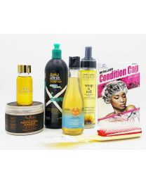 CG Friendly Products Set 1 Protein Free For Normal Fine Wavy Curl Hair