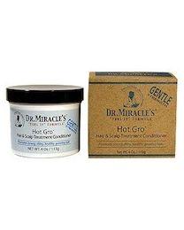 Dr. Miracles Hot Gro Hair & Scalp Treatment - 4oz` / 113g