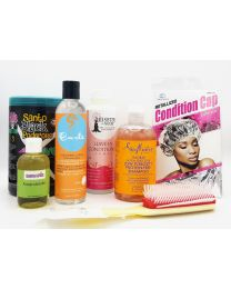 CG Friendly Products Protein Free Set 2 For Normal Curly Hair.