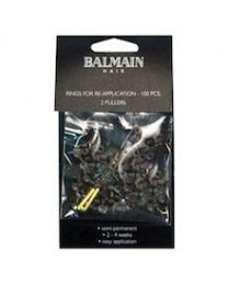 Balmain Rings For Doublehair Lenght & Volume 100 pcs