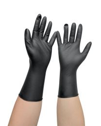 Comair Vinyl Gloves Long Sleeve M - 100st.