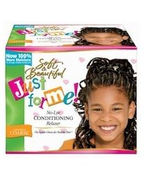 Just For Me No-Lye Conditioning Relaxer kit Super