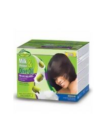 Soft n Free GroHealthy Milk Protein & Olive Oil - No-Lye Relaxer Kit