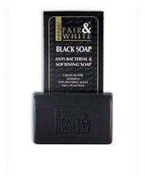 Fair And White Original Black Soap Purifying n Softening