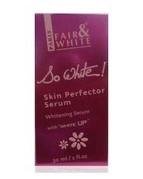 Fair And White So White Skin Perfector Whitening Serum With WHITE U