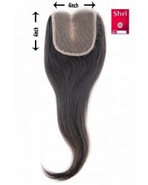 Indian Shri 100% Human Hair Closure - Straight