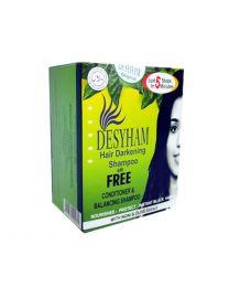 Desyham Hair Darkening Shampoo Black - 5 pack