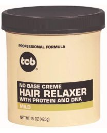 TCB No Base Cream HAIR RELAXER - Mild 15oz /  425g