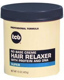 TCB No Base Cream HAIR RELAXER - Super - 18oz / 510g