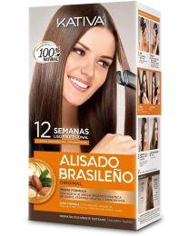 Kativa - Alisado Brasileno - straightening kit