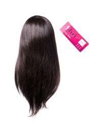"Human 100% Human Hair Shri 13""x6"" Front Lace Wig - Straight / Steil"