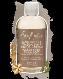 Shea Moisture Sacha Inchi Oil Omega 3 6 9 Rescuer And Repair Clarifying Shampoo 384 ml