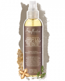Shea Moisture Sacha Inchi Oil Omega 3 6 9 Rescue And Repair Heat Protect Oil Serum 118 ml