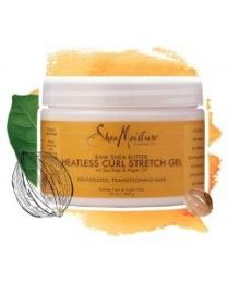 Shea Moisture Raw Shea Butter Heatless Curl Stretch Gel 340 gr / 12 oz