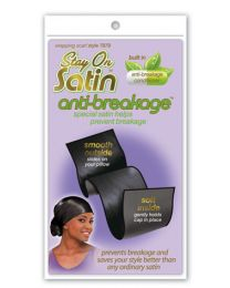 Stay on Satin Anti Breakage Wrapping Scarf Style 7879