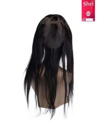 Indian Shri 100% Human Hair 360º Frontal met Cap - Straight