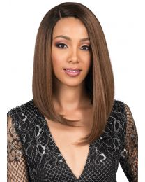 Bobbi Boss Lace Front wig MLF306 Chyna - color 1B