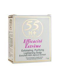 55H+ Efficacité Extrême Savon Gommant / Exfoliating Soap 7oz / 200g