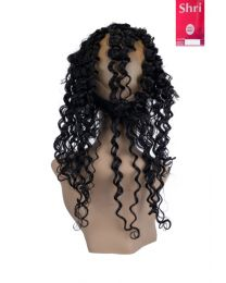 Indian Shri 100% Human Hair 360º Frontal - Deep Wave