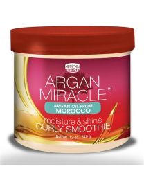 African Pride Argan Miracle Moisture & Shine Curly Smoother 340 gr