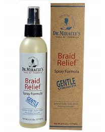 Dr. Miracles Braid Relief - Spray formula Gentle - 6oz / 177ml