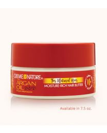 Creme of Nature - Argan Oil ( Butter-Licious ) Curls Moisture-Rich Hair Butter 7.5oz -  213 gr