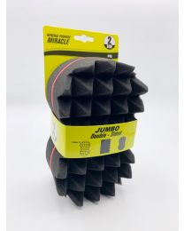 "Twist Sponge Large Double Sided ""Spikes"""