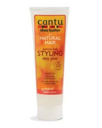 Cantu Shea Butter for Natural Hair Extreme Hold Styling Stay Glue