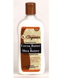 Africas Best Ultimate Organics Cocoa Butter & Shea Butter Moisturizing Lotion