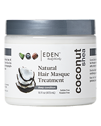 EDEN BodyWorks Coconut Shea Natural Hair Mask Treatment 473 ml