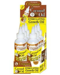 Africas Best Ultimate Organics Coconut Oil Stimulating Growth Oil