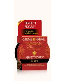 Creme of Nature - Argan Oil Perfect Edges™ Black  -  2.25oz - 64 gr