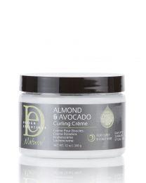 Desing Essentials Natural Almond and Avocado Curling Creme 12oz / 340 gr