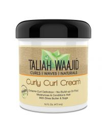 Taliah Waajid Curly Curl Cream - 16oz / 473ml