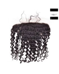 KCH Virgin Frontal Deep Wave 100% Virgin Hair 14""