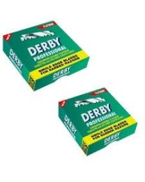 Derby Professional Single Blades 100 pcs