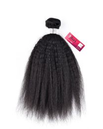 Indian Shri 100% Human Hair Weave Kinky Straight