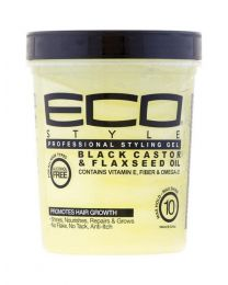 Eco Styler Professional Styling Gel Black Castor and Flaxseed Oil