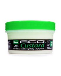 Eco Custard Conditioning Shining & Styling Cream Olive Oil