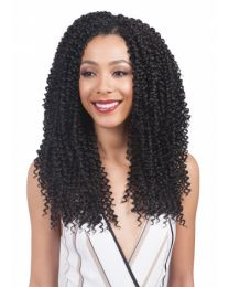 "BobbiBoss 3x Multi-length Crochet Braid- Baby Soft 10""/12""/14"""